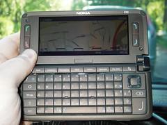 Nokia E90 Communicator big-screen Navi
