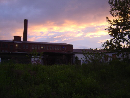 Sunrise over Beaver Mills