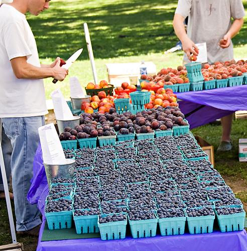 Blueberries, Peaches, Strawberries, Plums et al