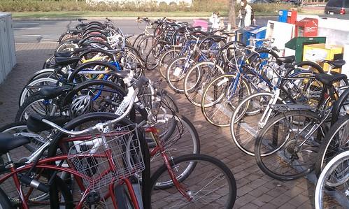 Eastern Market bike rack