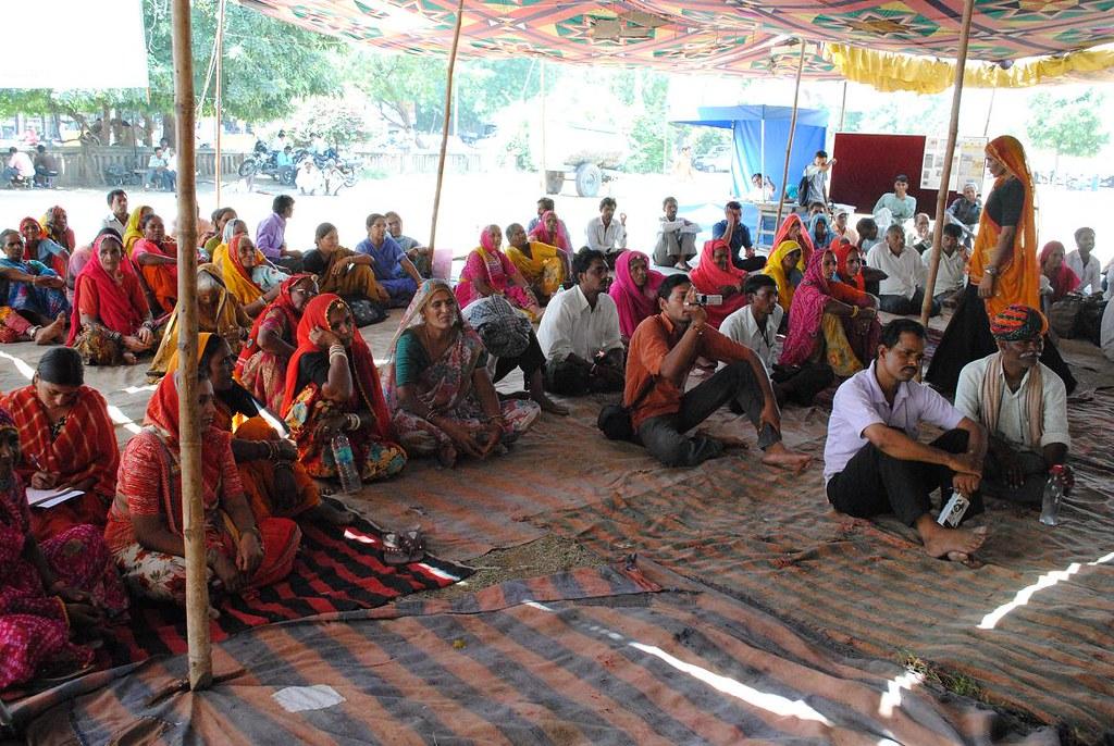 Pics from the satyagraha - 4 Oct 2010 - 16