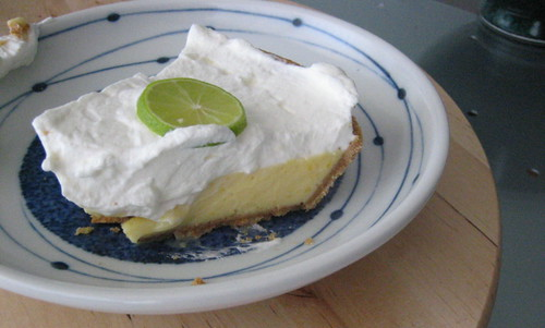 key lime sliced
