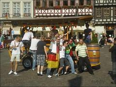 Fussball-WM Fans in Frankfurt - 01