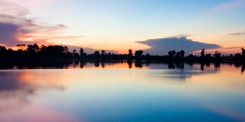 Sunrise at Srah Srang