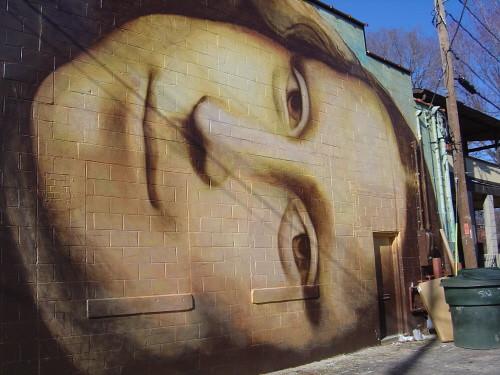 Mona Lisa mural