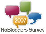 Chestionar pentru bloggeri - 2007