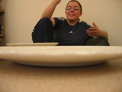 Sarah Plate-sitting