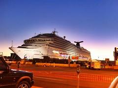Carnival Cruise Ship Splendor Arrives at Port ...