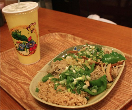 noodles and lemonade