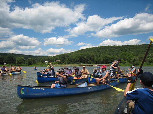 Canoeing the Upper Delaware River