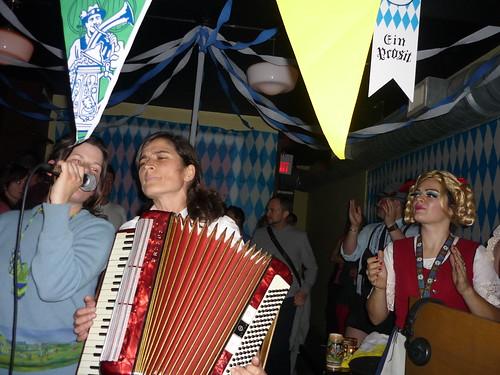 Polka Queen performing