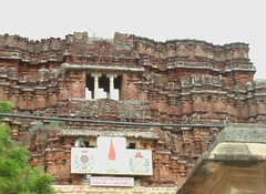 Hoysala style half finished Rajagopuram