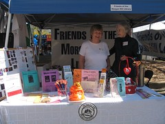 Friends of the Library Booth, Taste of Morgan Hill