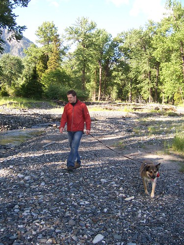 david and barkley near wallowa lake