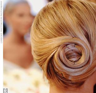 Your Best Wedding Possible Wedding Hair Updo Elegant Bun