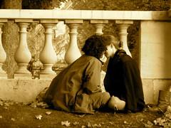 Amor en París - Jardín de Luxemburgo