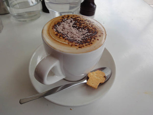 Sideways Deli Cafe: Soy cappuccino