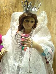 Virgen María de un misterio en Guatemala