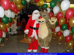 Rudolph The Rednose Reindeer and Santa Claus
