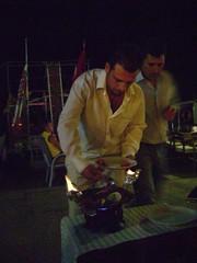 Flaming Kebab