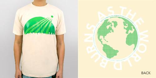 As the World Burns  T-Shirt by Munchiebrain