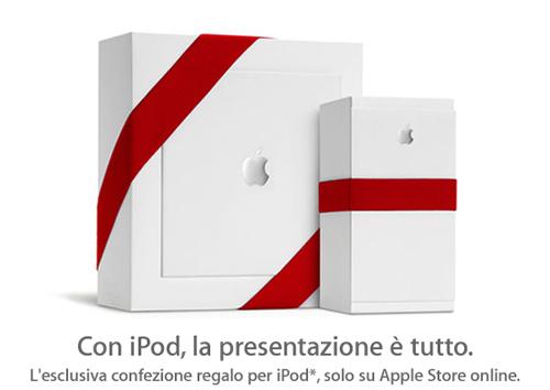 iPod in Confezione Regalo