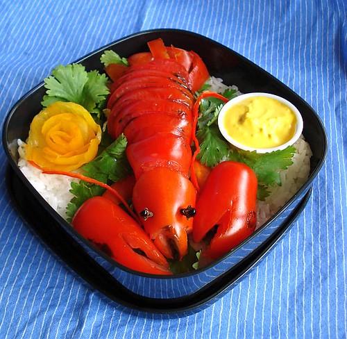 mock lobster 3 by Sakurako Kitsa.