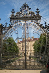 RI - Newport: The Breakers Gateway by wallyg on Flickr