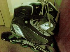 15092007 my inline skates, nike (or rollerblades)