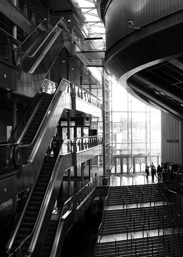 Main hall, Millennium Point, Birmingham