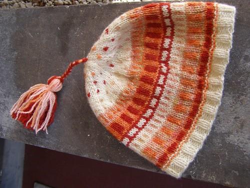 warm cityscape hat