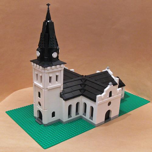 18th century church in Sweden
