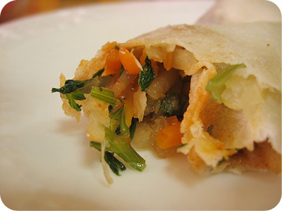 Homemade popiah #2