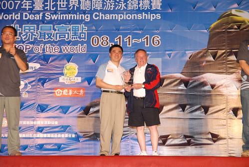 2007聽障游泳錦標賽-閉幕典禮-英國
