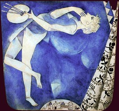 Chagall, Marc  - The painter and the moon - 1915