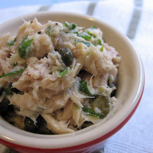 #25: upscale tuna salad