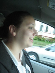 My chauffeur..