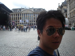 Me at Grand Place