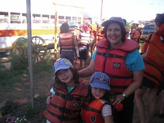 in lifejackets