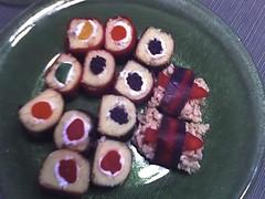 Amanda's candy sushi