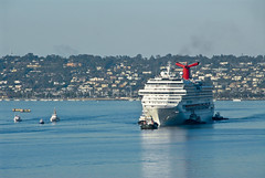 Carnival Cruise Ship Splendor Arrives at Port ...