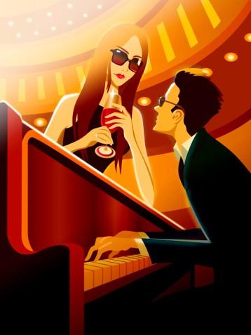 Vocing piano keyboard chords