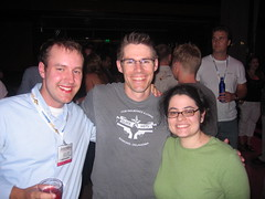 David, Jon Kelly, and me - SES San Jose 2007