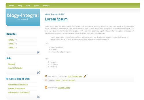 Plantilla-Blogy-integral