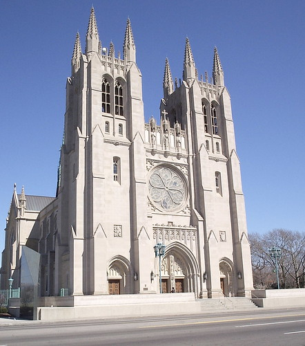 Blessed Sacrament Cathedral Exterior