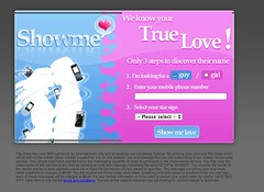 love calculator scam Australia