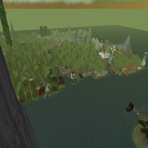 Caledon Stormhold from Speirling