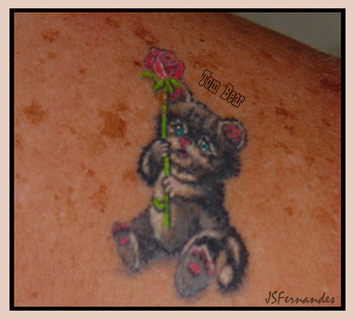 #22 Tom Bear - Tattoo Bear Posted 40 months ago. ( permalink )