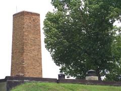 Chimenea del crematorio de Auschwitz