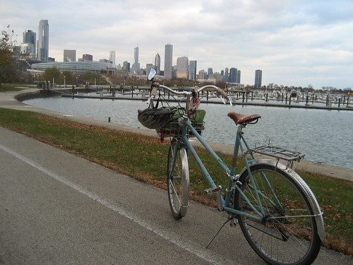 Chicago on two wheels.